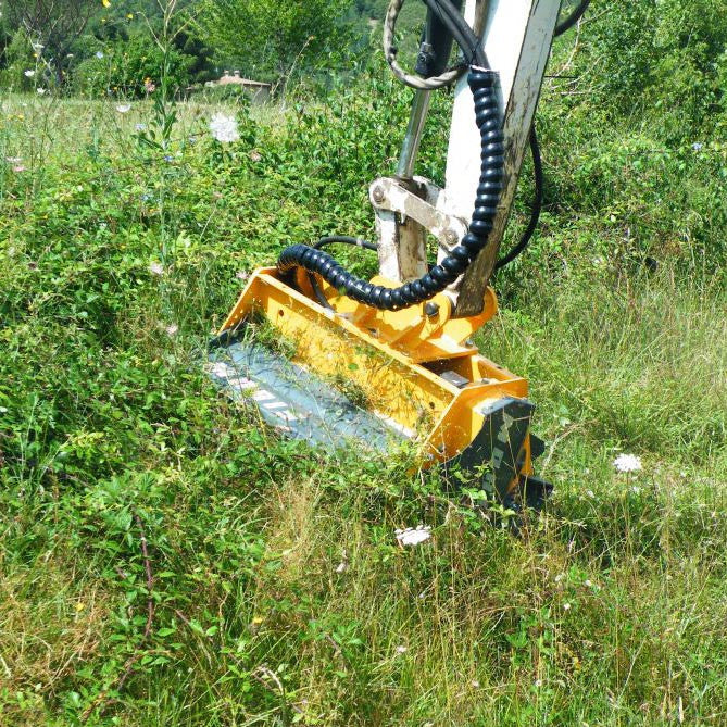 Femac TE 60 REV Flail Mower - Approved Hydraulics