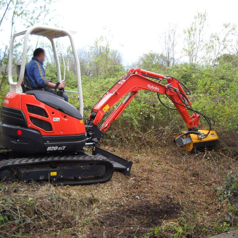 Femac TE 80 LT Flail Mower - Approved Hydraulics
