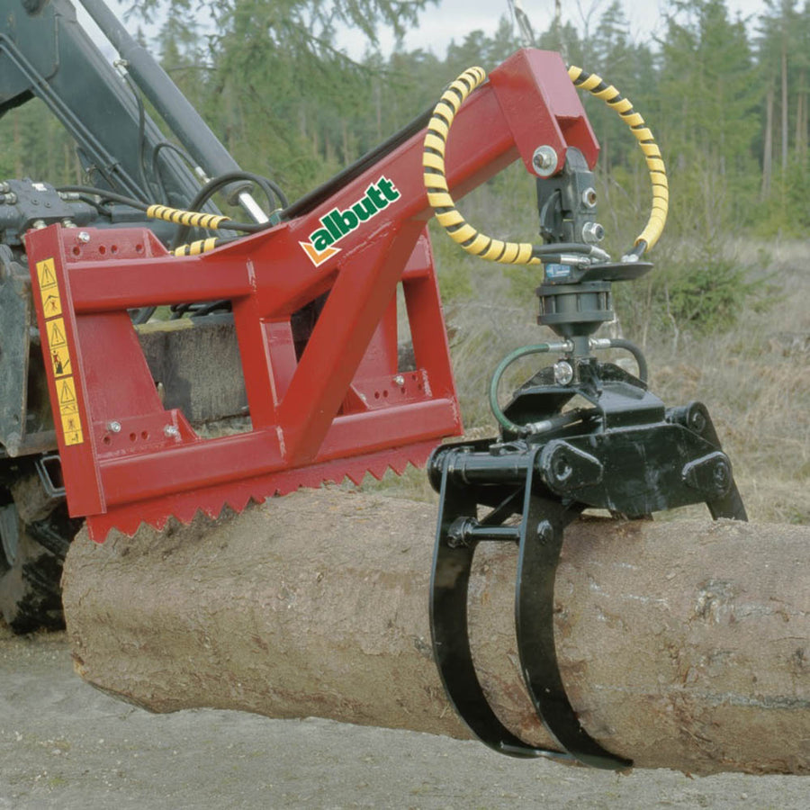 Albutt Timber Grapples - Approved Hydraulics