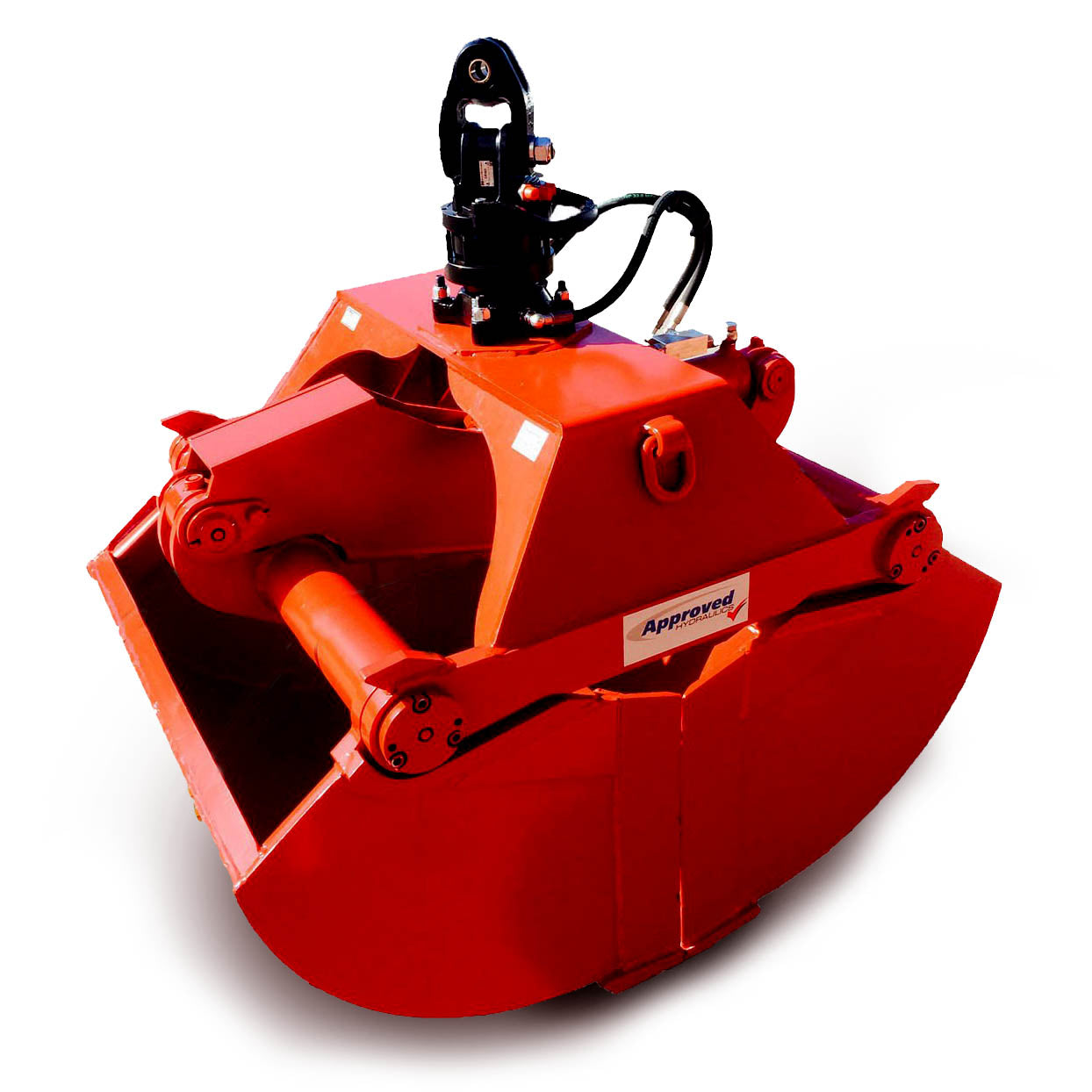Clamshell Bucket Grabs (Cranes) - Approved Hydraulics Ltd