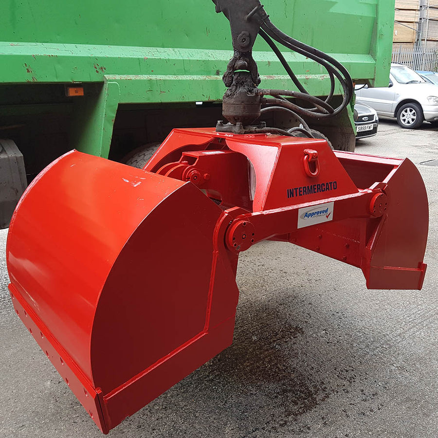 Intermercato TVG 1000 Bucket Grab - Approved Hydraulics