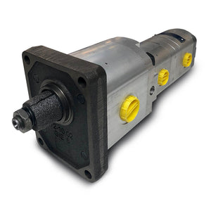 Triple Gear Pump - Gp2 17cc - Gp1 3.3+3.3 - 1:8 taper