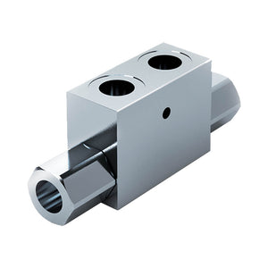 "Top Link Double Pilot Check Valve 3/8""BSP In Lin - 25Lpm - Approved Hydraulics Ltd"