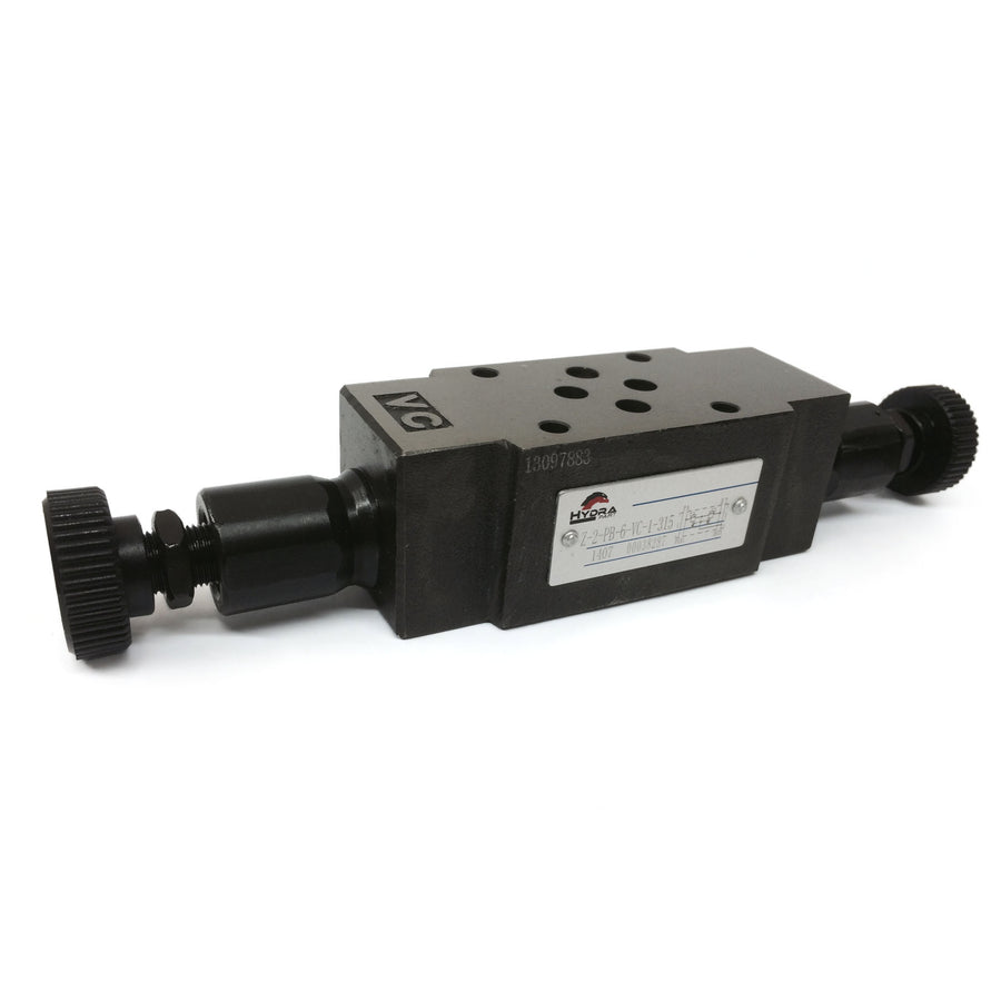 Hydra Part CETOP 3 Pilot Operated Relief Valve Module - (Z-2-PB-6-VC-1-315) - Approved Hydraulics