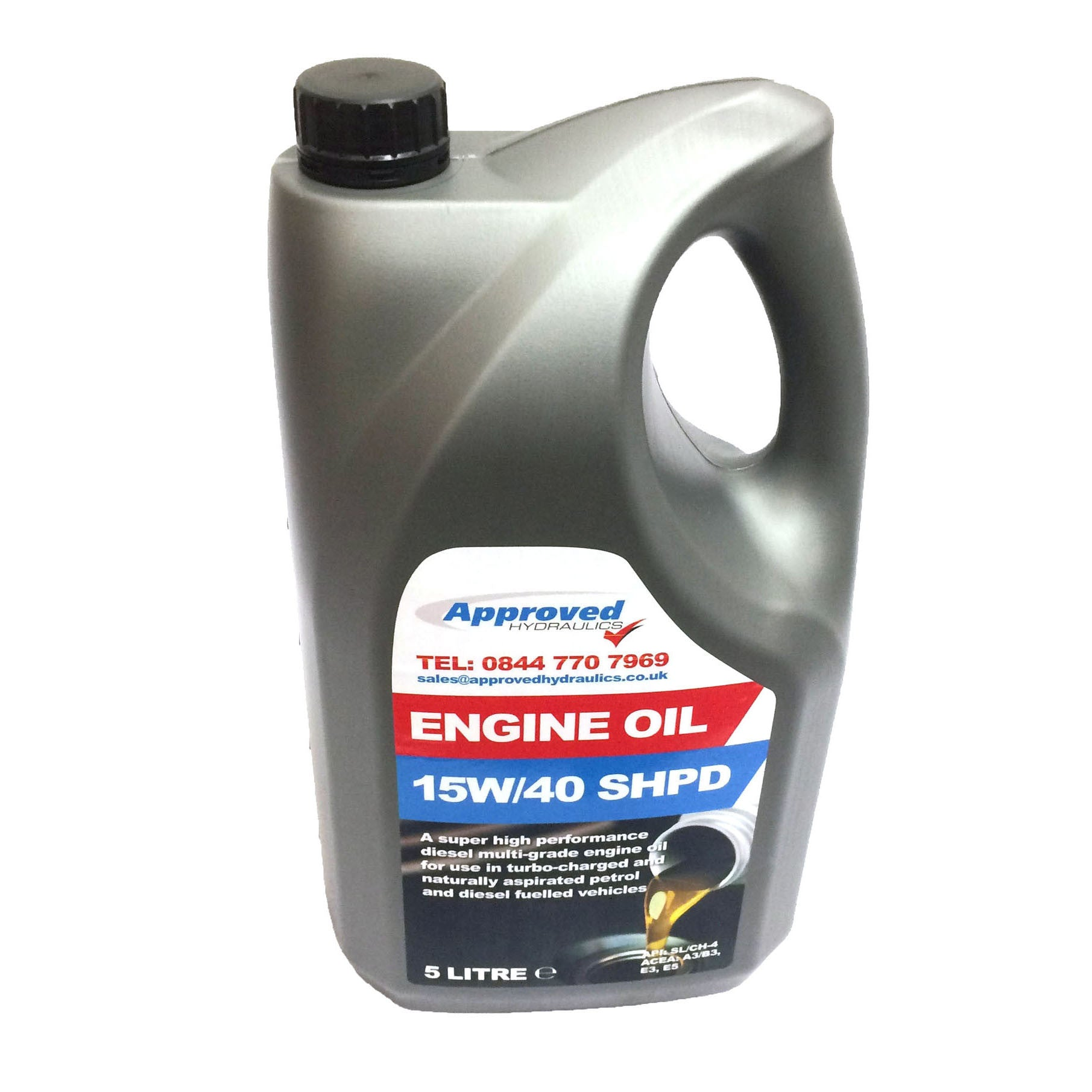 Engine Oil 15W/40 5 Litres