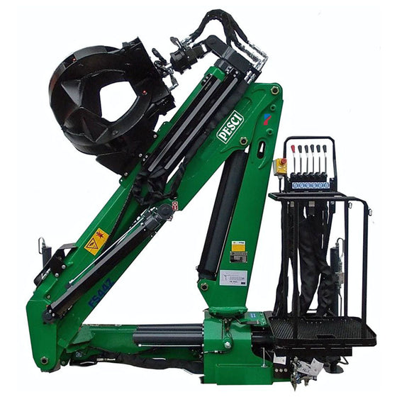 PESCI FS 44Z Scrap & Timber Crane - Approved Hydraulics
