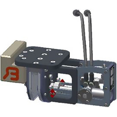Bakker GEJO 00 Container Discharge Unit - Approved Hydraulics