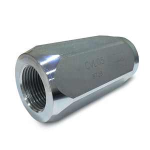 "Hydra Part Poppet Check Valve 3/4"" 130Lpm, 300 Bar Max Pressure - Approved Hydraulics"