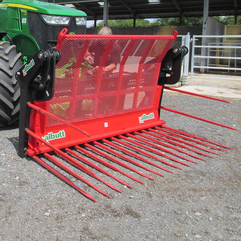 Albutt Buck Rakes – KV Type Tines - Approved Hydraulics