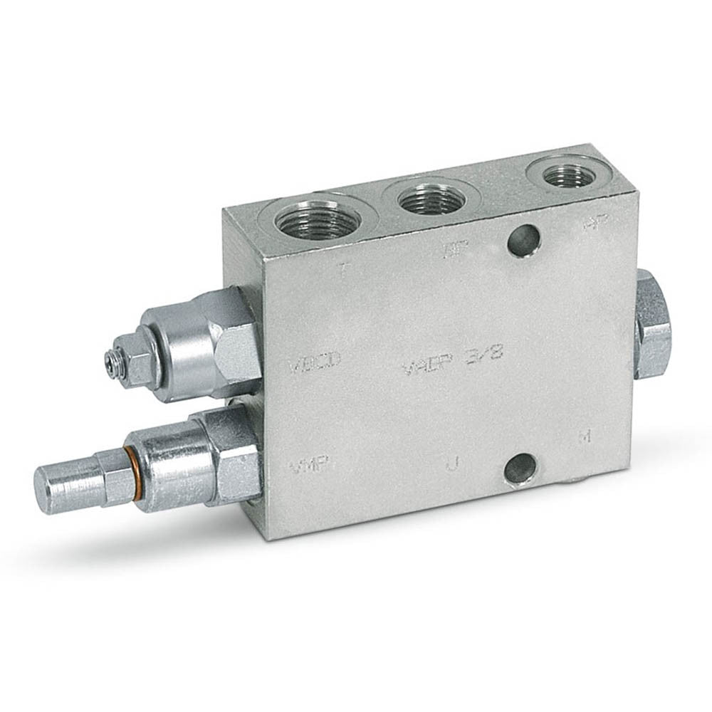 "Hydra Part 3/4"" Hydraulic Two Pump High Low Unloading Valve - Approved Hydraulics"