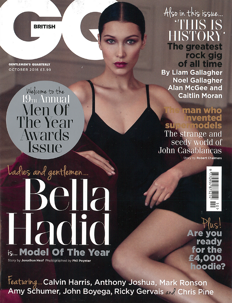 GQ Cover