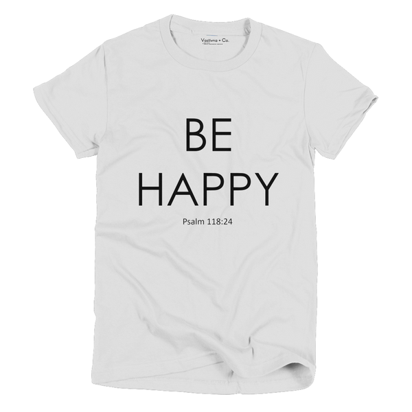 Be happy vintage t-shirt