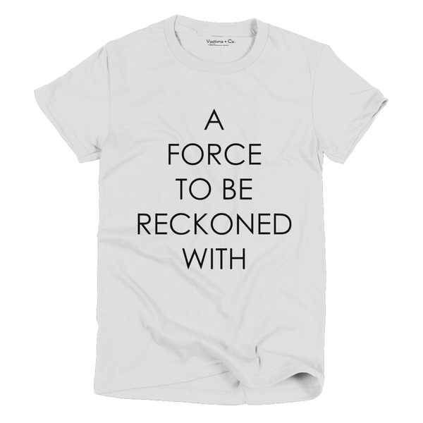 A force to be reckoned with vintage t-shirt