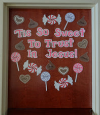Tis So Sweet To Trust In Jesus! - Christian Valentine's Day Display