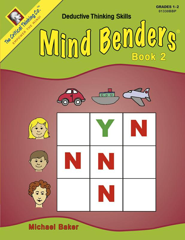 Mind Benders Beginning Book 2 Gr 1-2