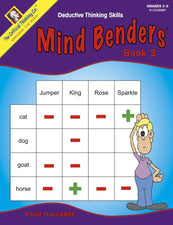 The Critical Thinking Co. Mind Benders Book 3