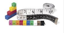 Customary/Metric Tape Measures, Set of 10