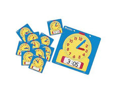 Write & Wipe Clocks Classroom Set