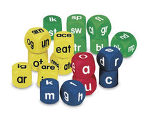 Soft Foam Phonics Cube Set