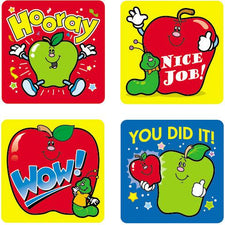 Apples Motivational Stickers