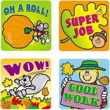 Fall Fun Motivational Stickers