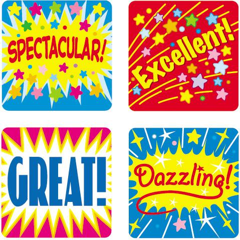 Positive Words Motivational Stickers