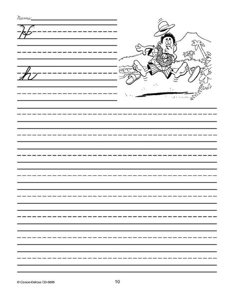 Traditional Handwriting: Cursive Practice Workbook