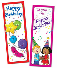 Bookmarks Happy Birthday 30/Pk