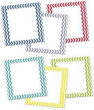 "Creative Teaching Press Chevron Solids 6"" Designer Cut-Outs"