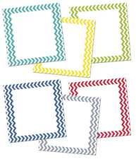 "Creative Teaching Press Chevron Solids 10"" Jumbo Designer Cut-Outs"