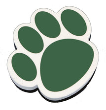 Green Paw Magnetic Whiteboard Eraser