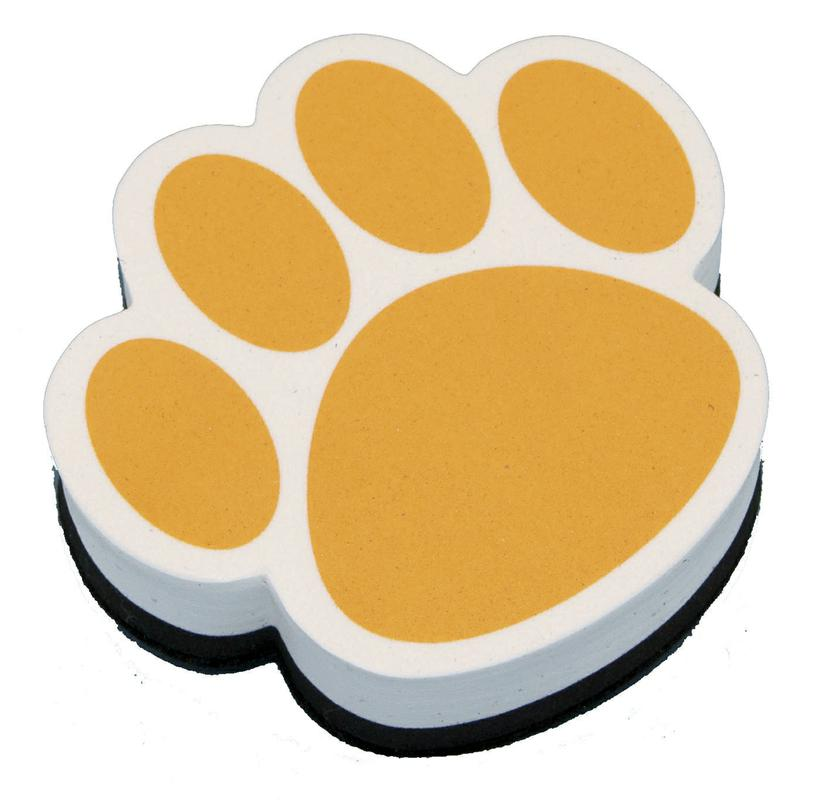 Gold Paw Magnetic Whiteboard Eraser