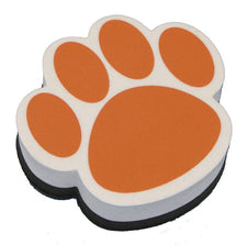 Orange Paw Magnetic Whiteboard Eraser