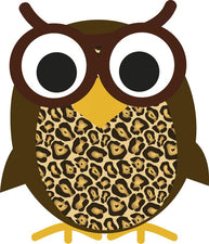 Wise Owl Magnetic Whiteboard Eraser
