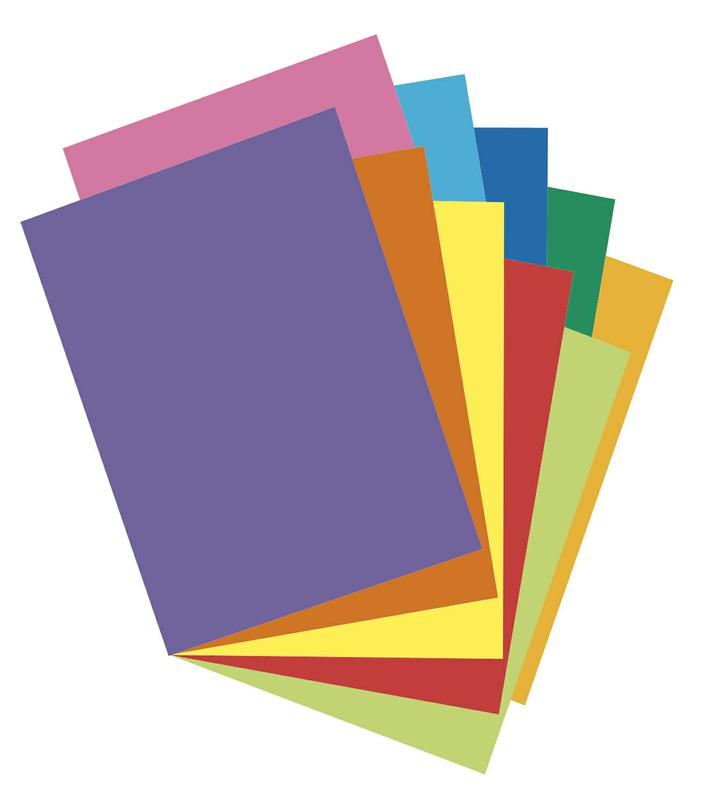 Array® Card Stock, 65#, Colorful Assortment, 100 Sheets