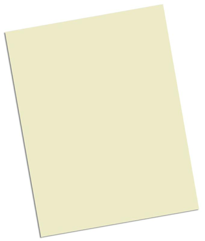 Array® Card Stock, 65#, Ivory, 100 Sheets