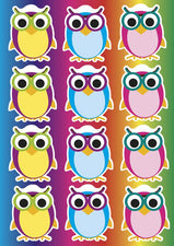 Magnetic Colorful Owls
