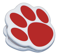 Red Paw Magnet Clip