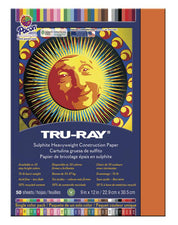 "Tru-Ray® Construction Paper, 9"" x 12"" Orange"