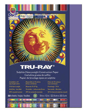 "Tru-Ray® Construction Paper, 9"" x 12"" Violet"