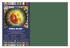 "Tru-Ray® Construction Paper, 12"" x 18"" Dark Green"