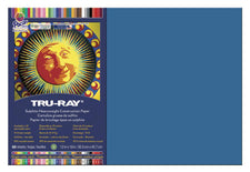 "Tru-Ray® Construction Paper, 12"" x 18"" Blue"