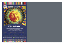 "Tru-Ray® Construction Paper, 12"" x 18"" Slate"