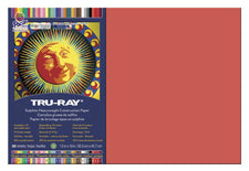 "Tru-Ray® Construction Paper, 12"" x 18"" Red"