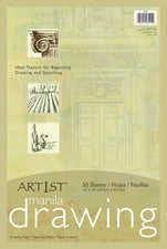 "Art1st® Manila Drawing Paper, 12"" x 18"", 50 Sheets"