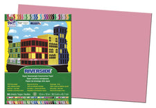 Riverside 12X18 Pink 50 Sheets Construction Paper