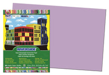 Riverside 12 x 18 Lilac Construction Paper, 50 Sheets