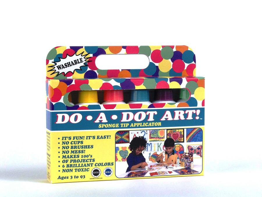 Do-A-Dot Art!® Brilliant Washable Dot Markers, 6 Pack