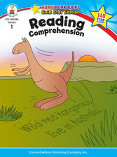 Reading Comprehension Home Workbook, Gr 1