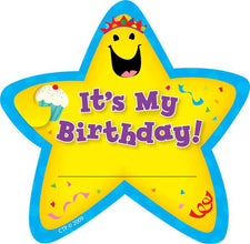 Star Badges Its My Birthday 36Pk